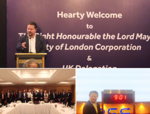 R5 TRAVELS TO INDIA WITH THE LORD MAYOR OF LONDON DELEGATION